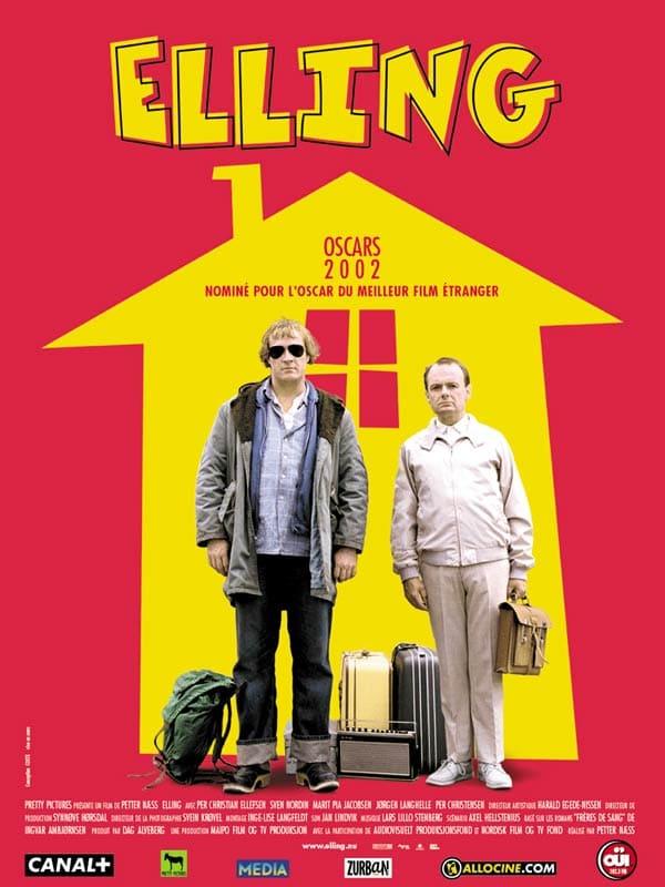 Filmen om den sosialdemokratiske mammadalten Elling og hans gode (men litt enklere venn) Kjell Bjarne